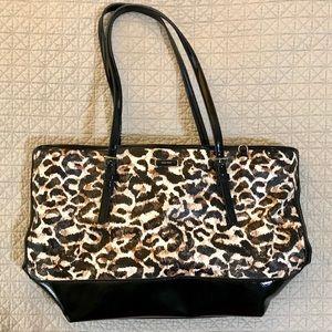 Nine West Handbag Animal Print Shoulder Bag